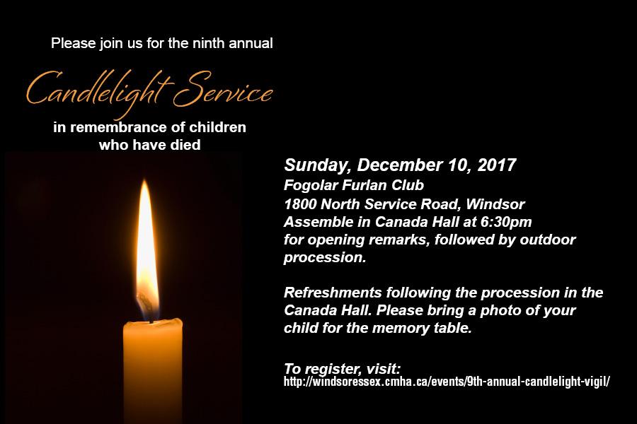 Candlelight Vigil Postcard