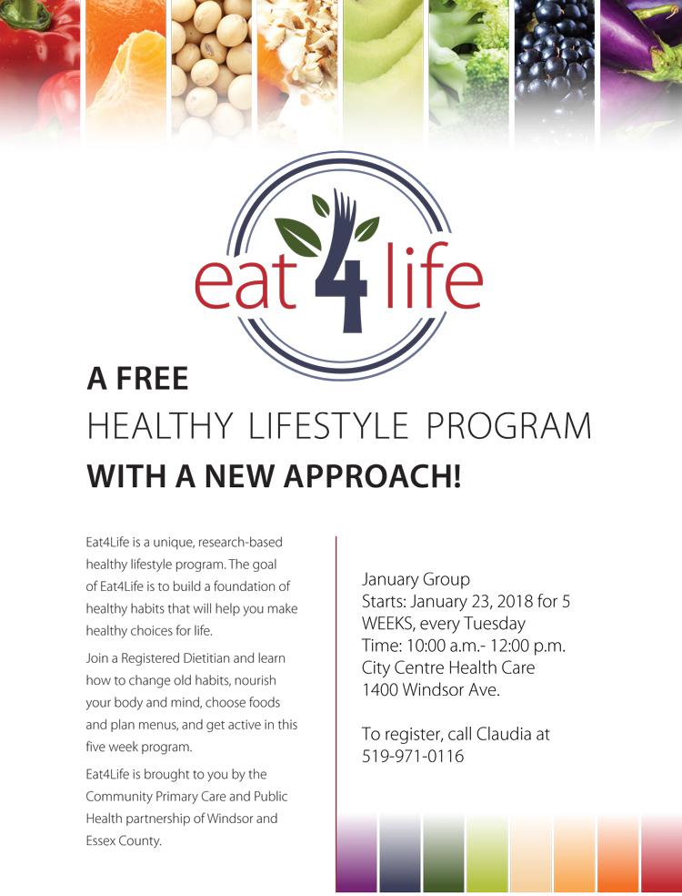 Eat 4 Life January