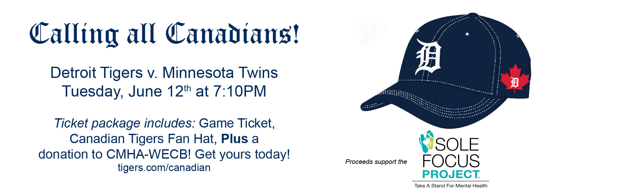 Detroit Tigers Canadian Fan Game Night