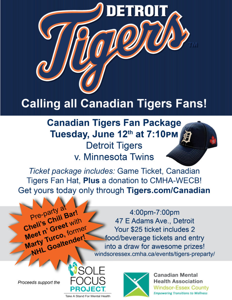 Tigers Game & Pre-party