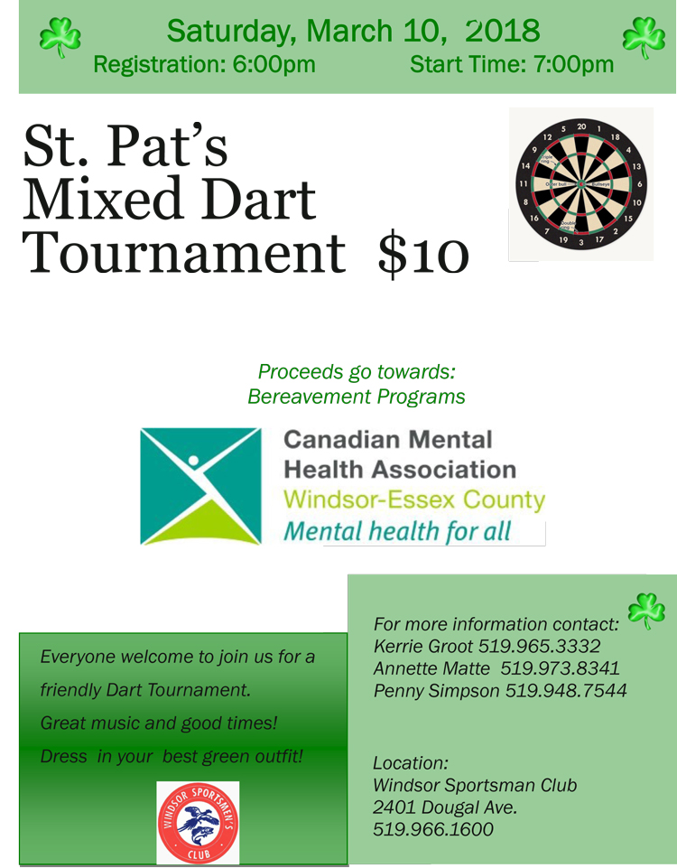 St. Pat's Dart Tournament