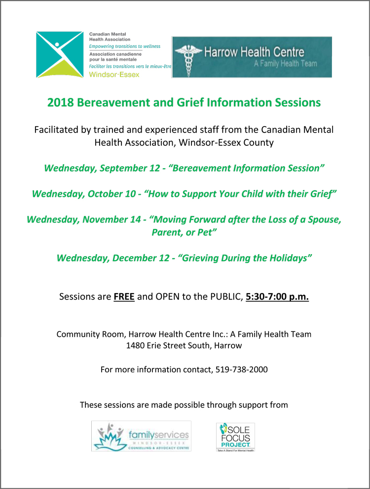 Bereavement Info Session