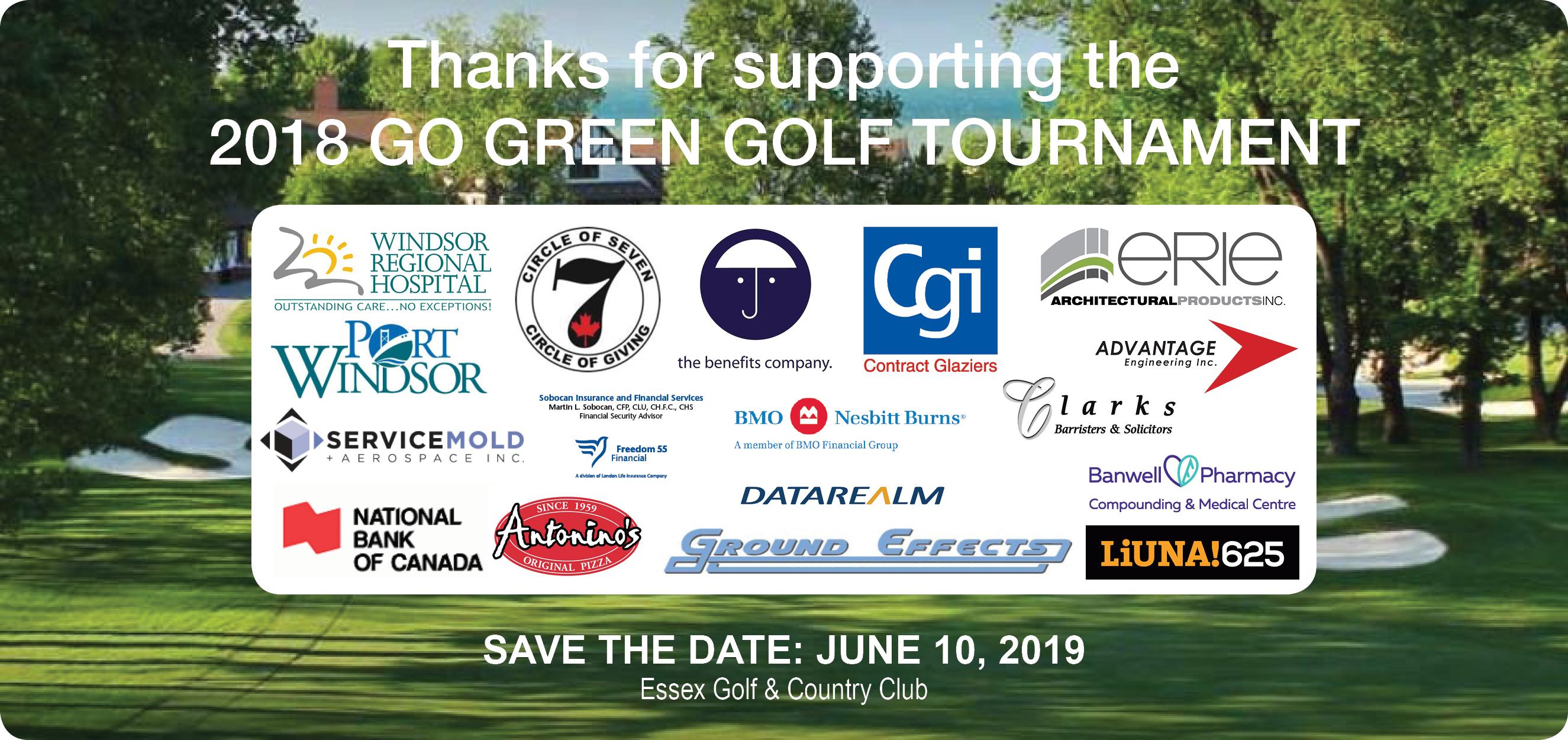 2019 Go Green Golf Tournament