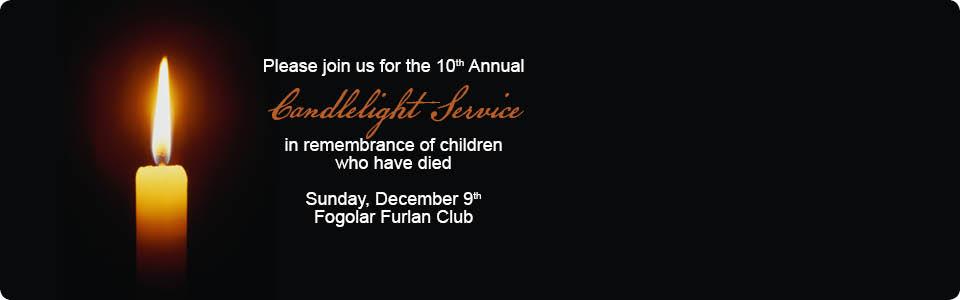 10th Annual Candlelight Vigil
