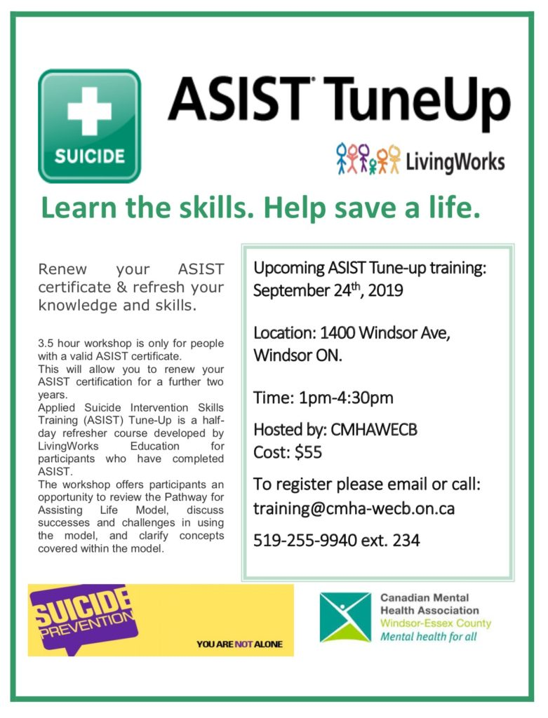 ASIST tune up Sept