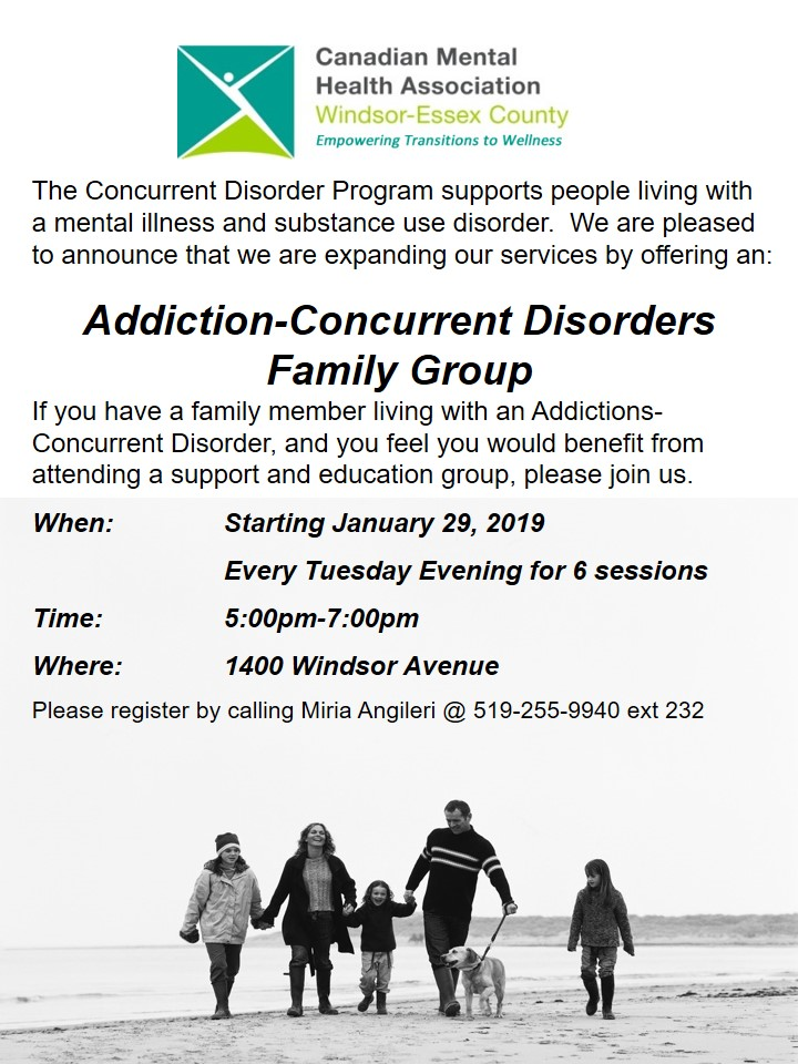Concurrent Disorder Family Group