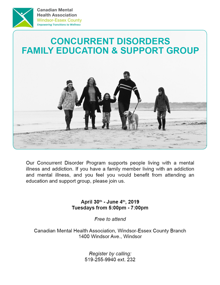 Concurrent Disorders Group