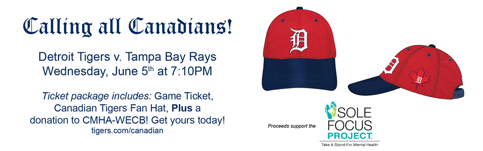 Detroit Tigers Canadian Fan Game Night