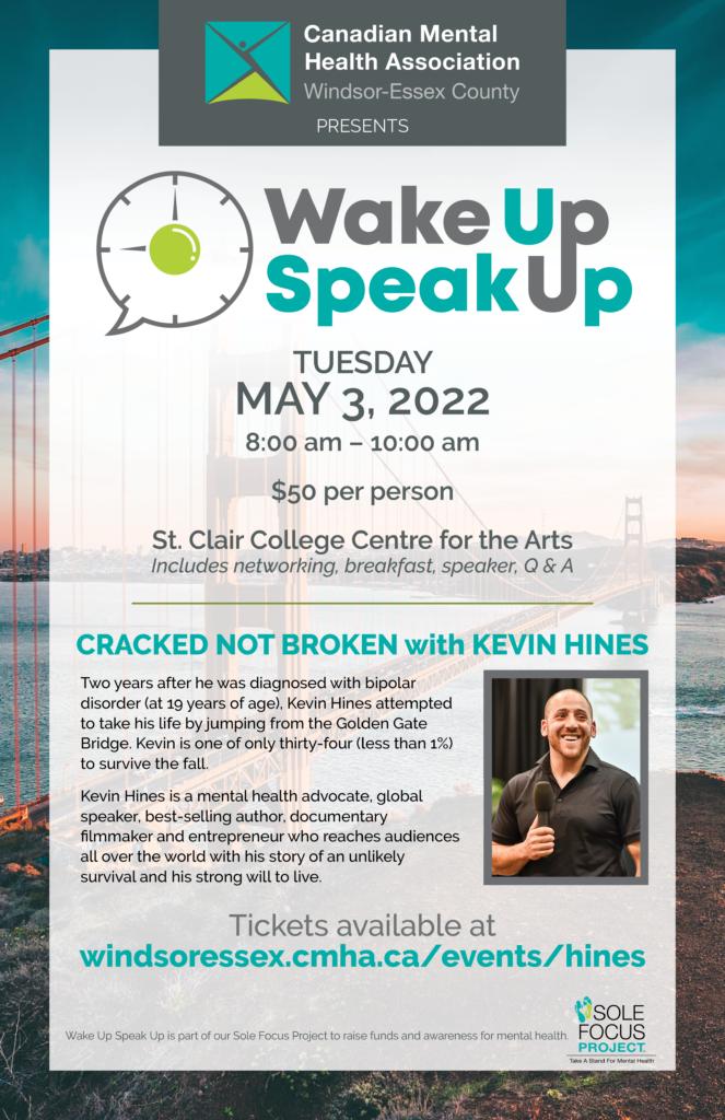 Wake Up Speak Up event
