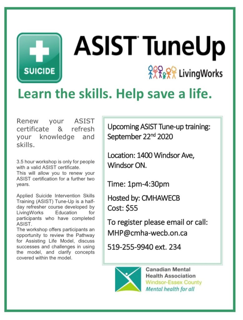 ASIST Tune Up Sept 2020