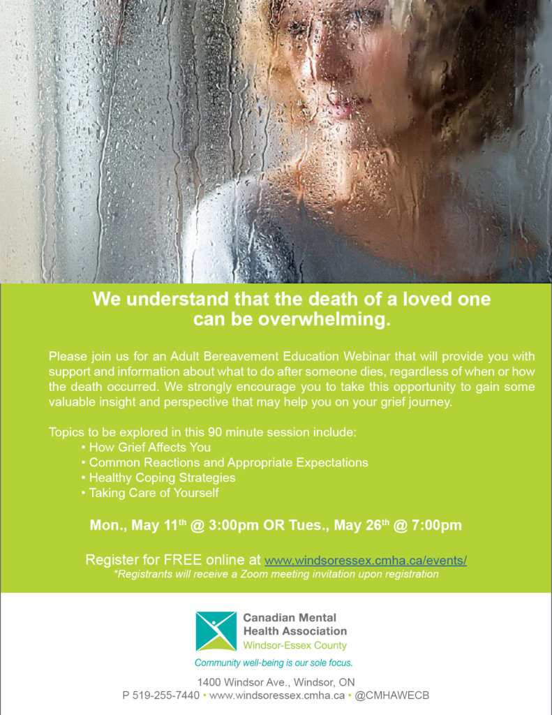 Adult Bereavement Education Session