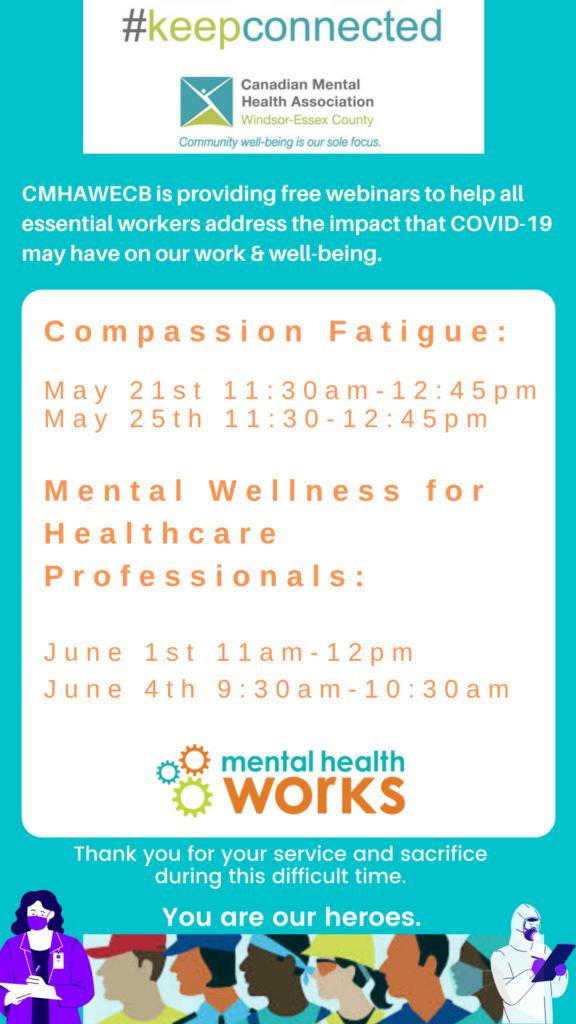 Mental Health Works webinars