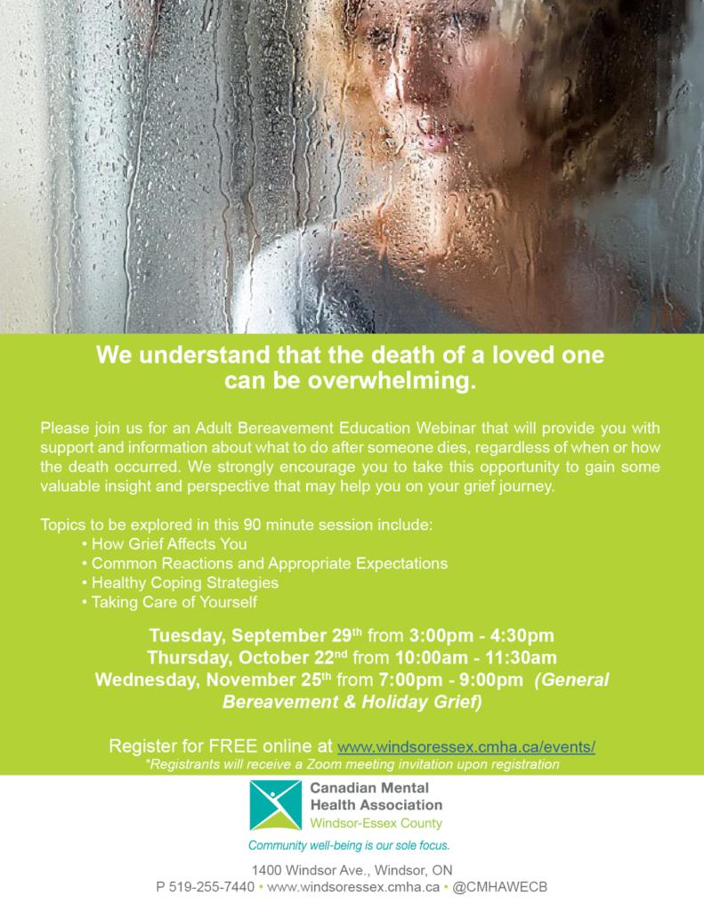 Adult Bereavement Education