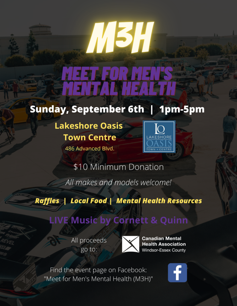 Meet for Men's Mental Health