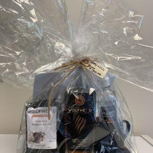 Wolfhead gift basket