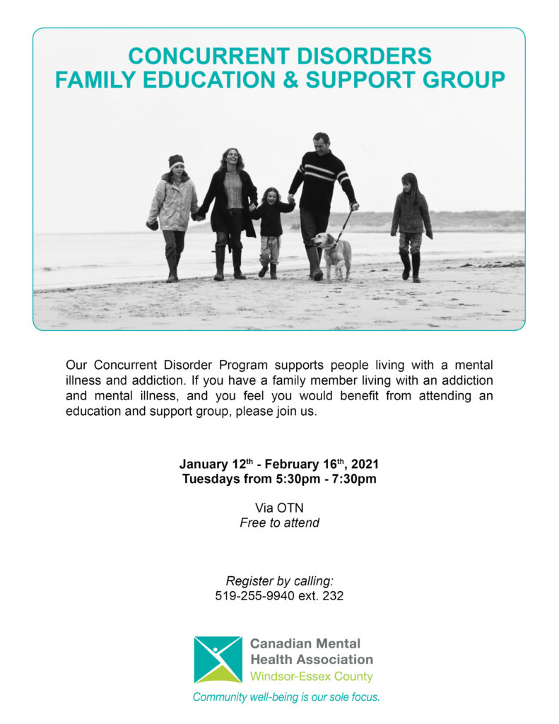 Concurrent Disorders Family Group