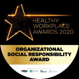 Org social responsibility award