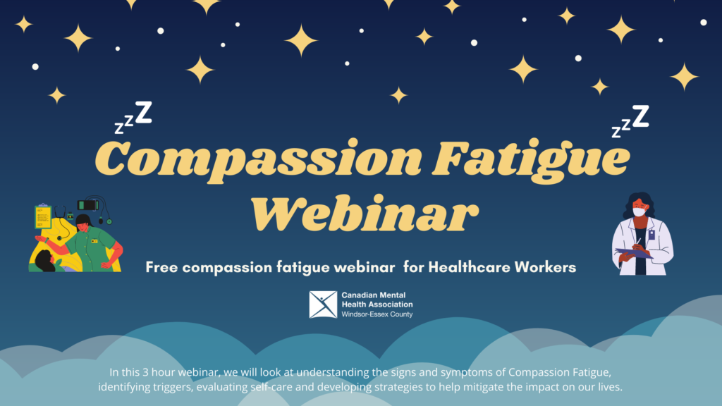 webinar for compassion fatigue during COVID