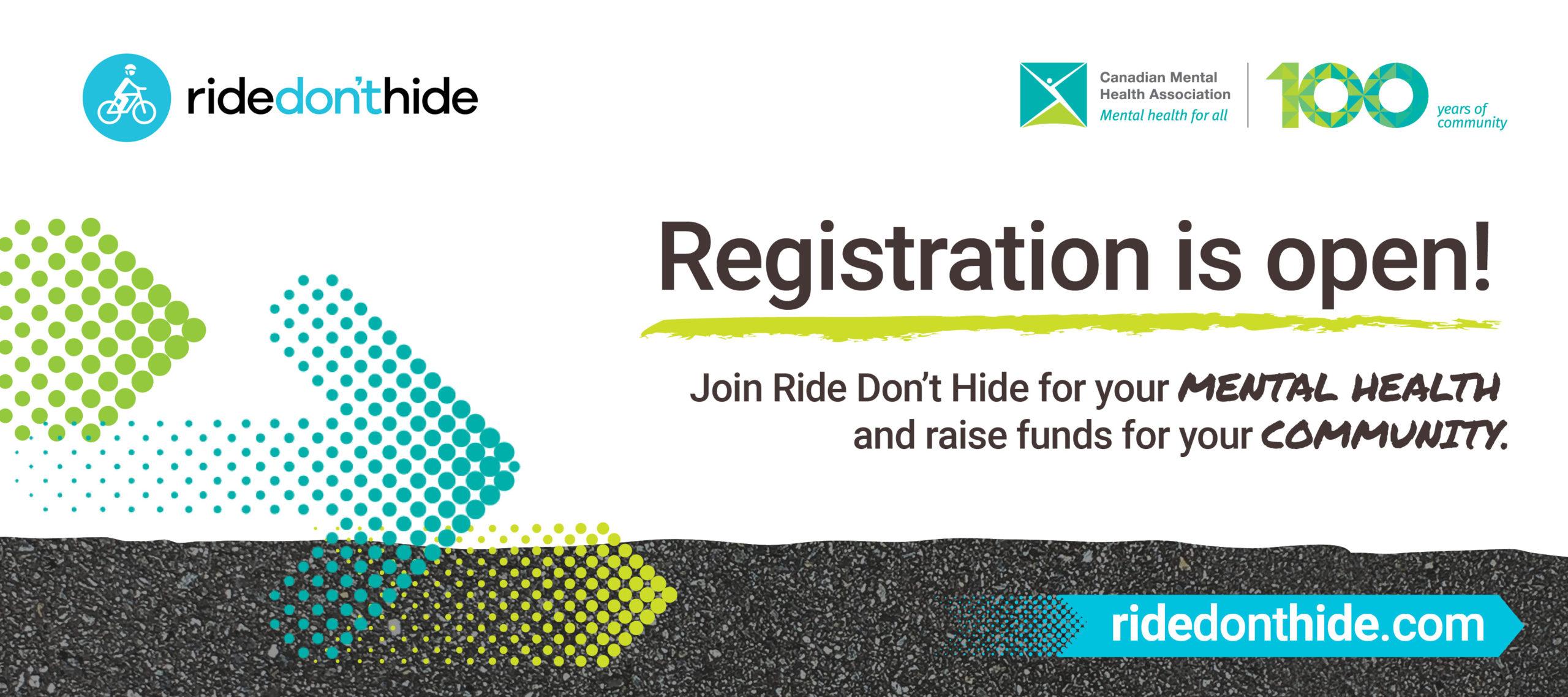 Ride Don't Hide registration open