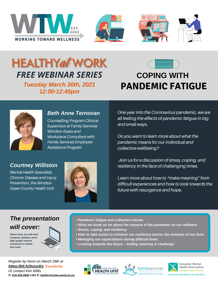 Working Toward Wellness