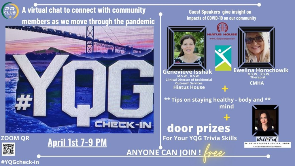 YGQ Check-in Event