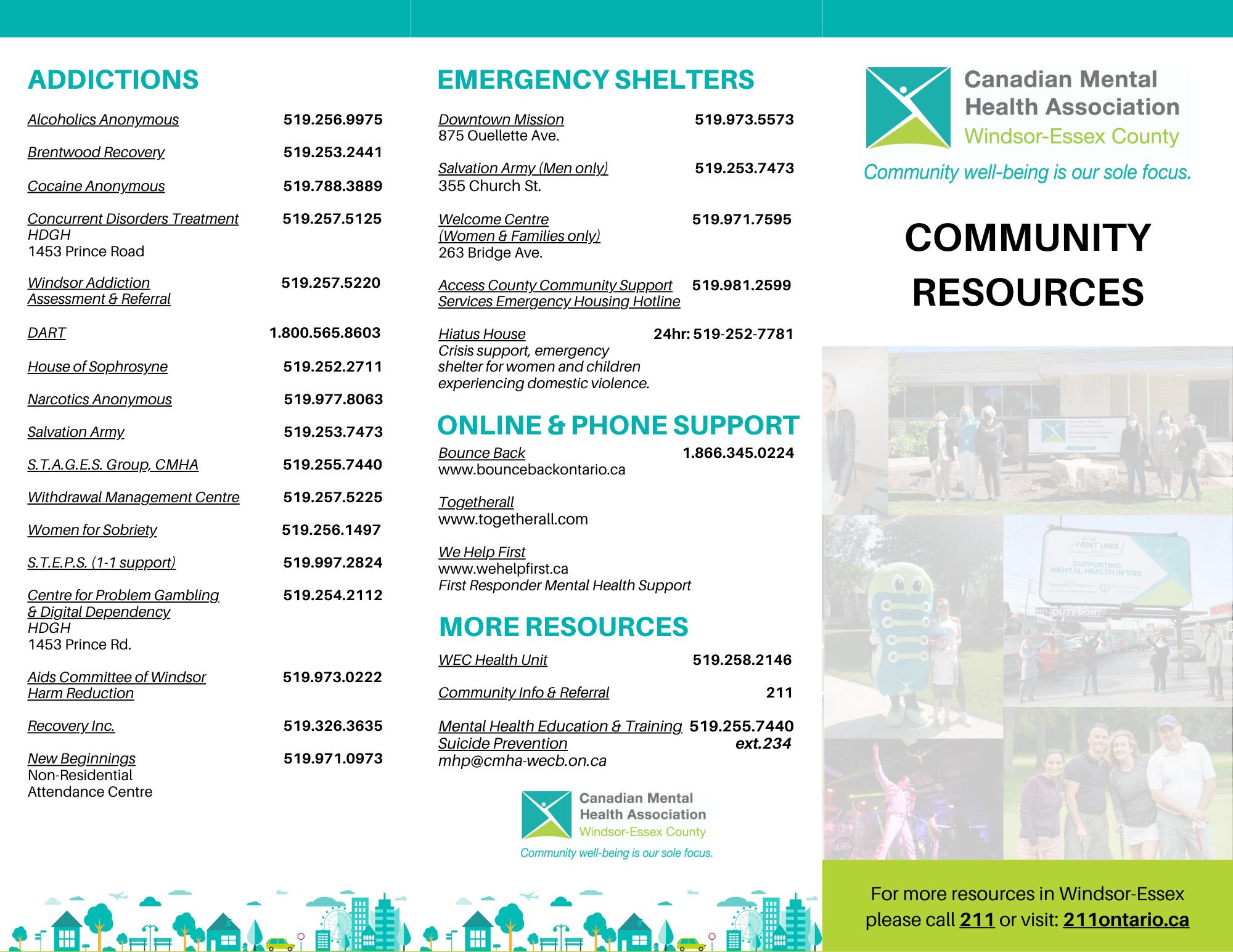 Community Resource Brochure